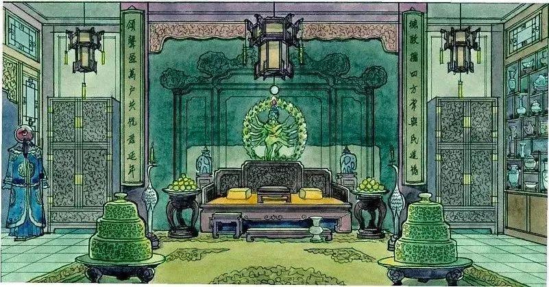 """【点赞】82 岁大师完美""""山寨""""故宫,3000 张手绘图复原"""