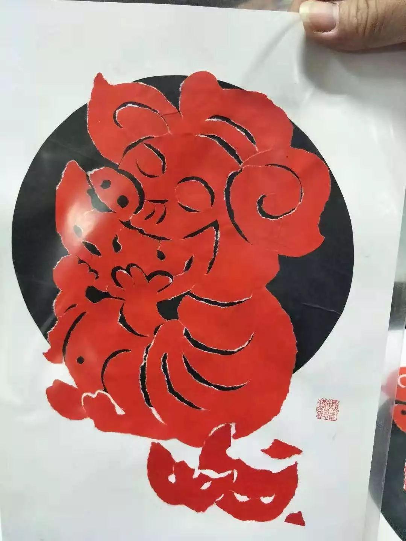 """""""金猪送福""""奉贤区第九届迎新生肖撕纸大赛正式启动图片"""