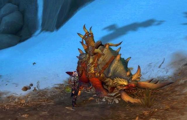 魔兽世界:裂蹄牛堪称肉盾,猎人最强宠物,大米完爆防战