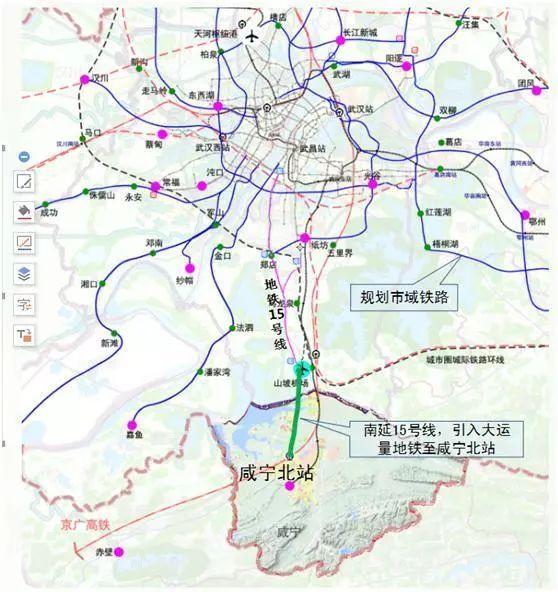 龙泉地铁规划图