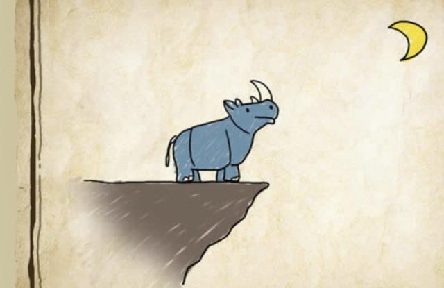 犀牛头猜成语_犀牛卡通图片