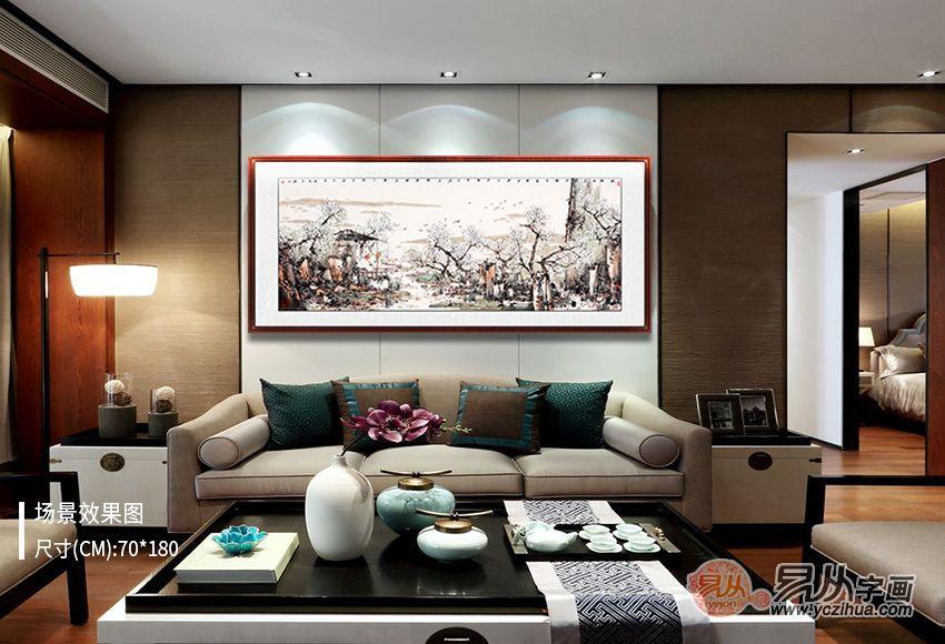 带有浓郁艺术气息的家居装饰画,给你不一样的品质生活