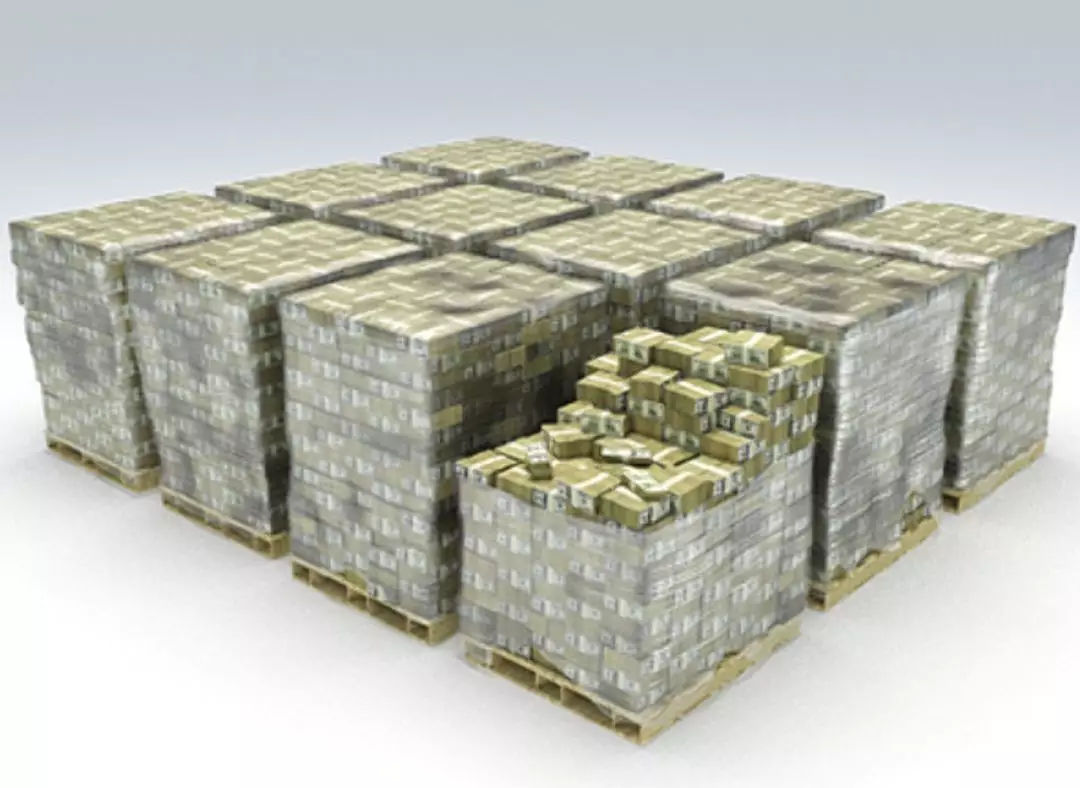 60美金_而16亿美金到底有多少?