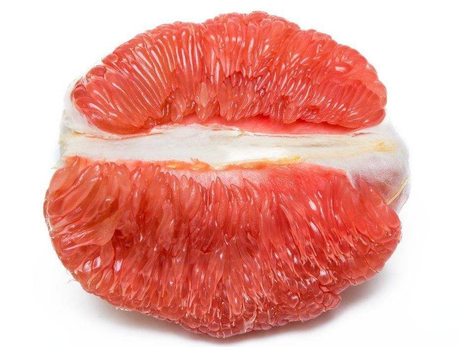 粉穴水多穴嫩_肉嫩多汁,个大皮薄,这颗柚子太好吃