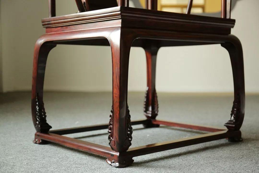 和器·皇宫圈椅cad图纸-椅腿局部