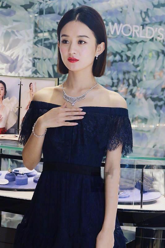 赵丽颖领证后为珠宝代言,网友:结婚用的上!