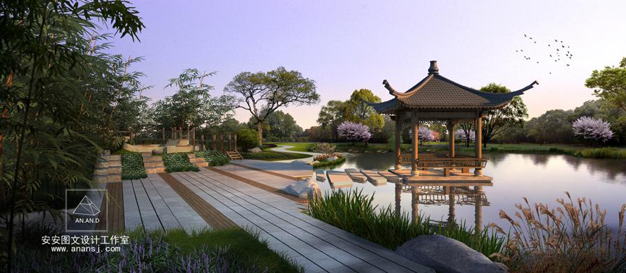 安安设计表现,不同微地形处理的景观效果园林室内设计有哪些色系图片