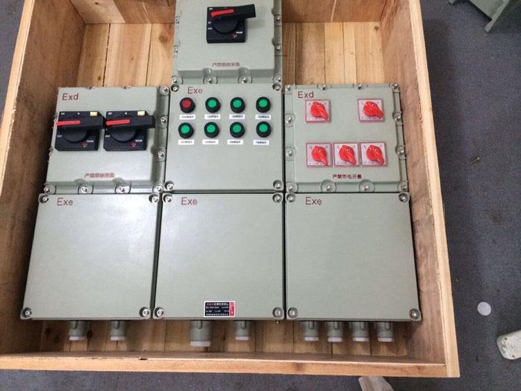 在粉尘车间安装防爆控制箱有什么作用?