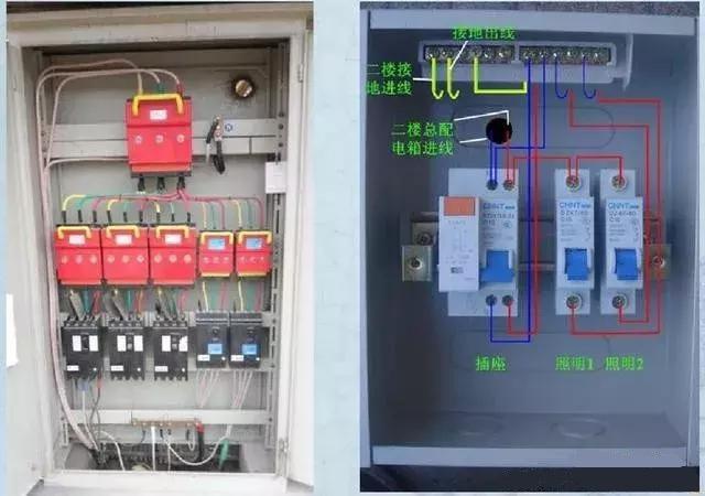 电气设计中的配电箱配电柜接线图详细讲解,【收藏】