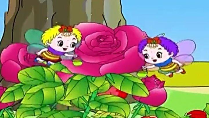 【汉化故事】每日河马蜜蜂【蝴蝶和青蛙】开心游戏v故事课堂