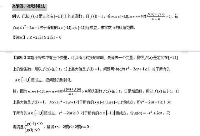 高中生:高中数学!不等式恒创立题型那么难,4种解题法你会吗?(责编保举:数学试题jxfudao.com/xuesheng)