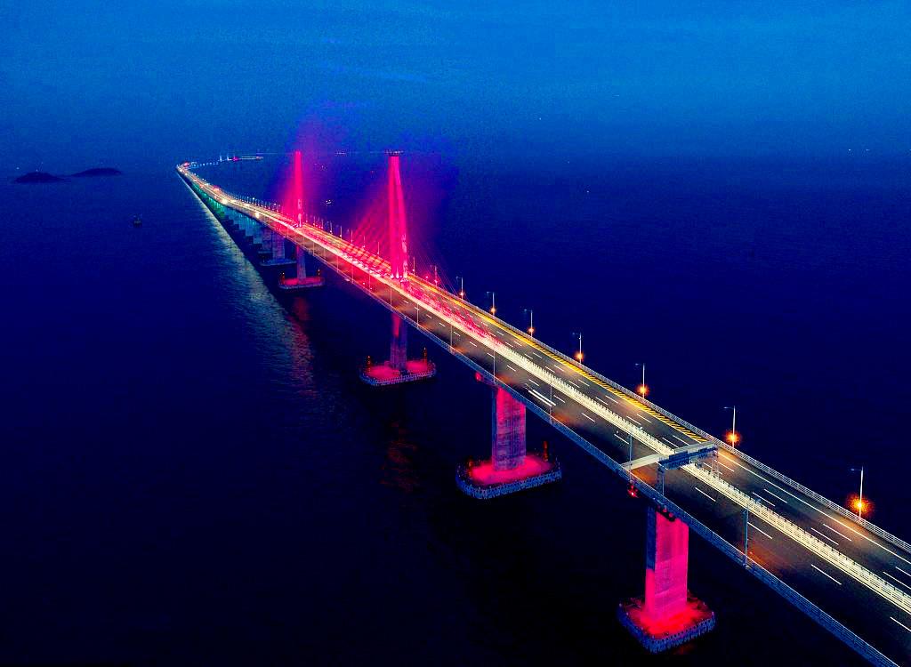 浪淘沙 贺港珠澳大桥开通