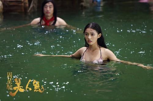 为什么周星驰要选林允出演《美人鱼》?看她海选的照片你就知道了