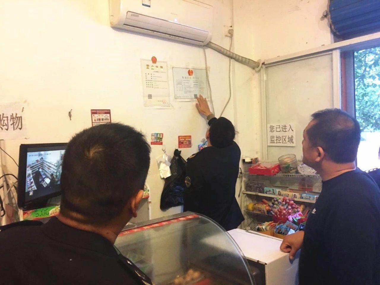 高新区开展学校食堂及周边食品安全专项整治巡查工作