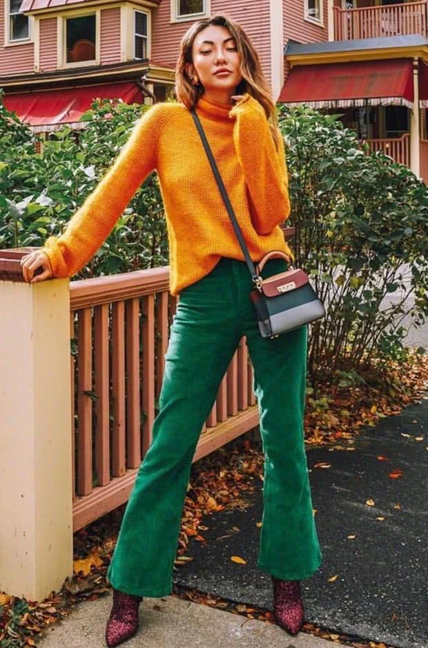 这个时尚博主的日常混搭不简单,走在街上回头率绝对百分百!