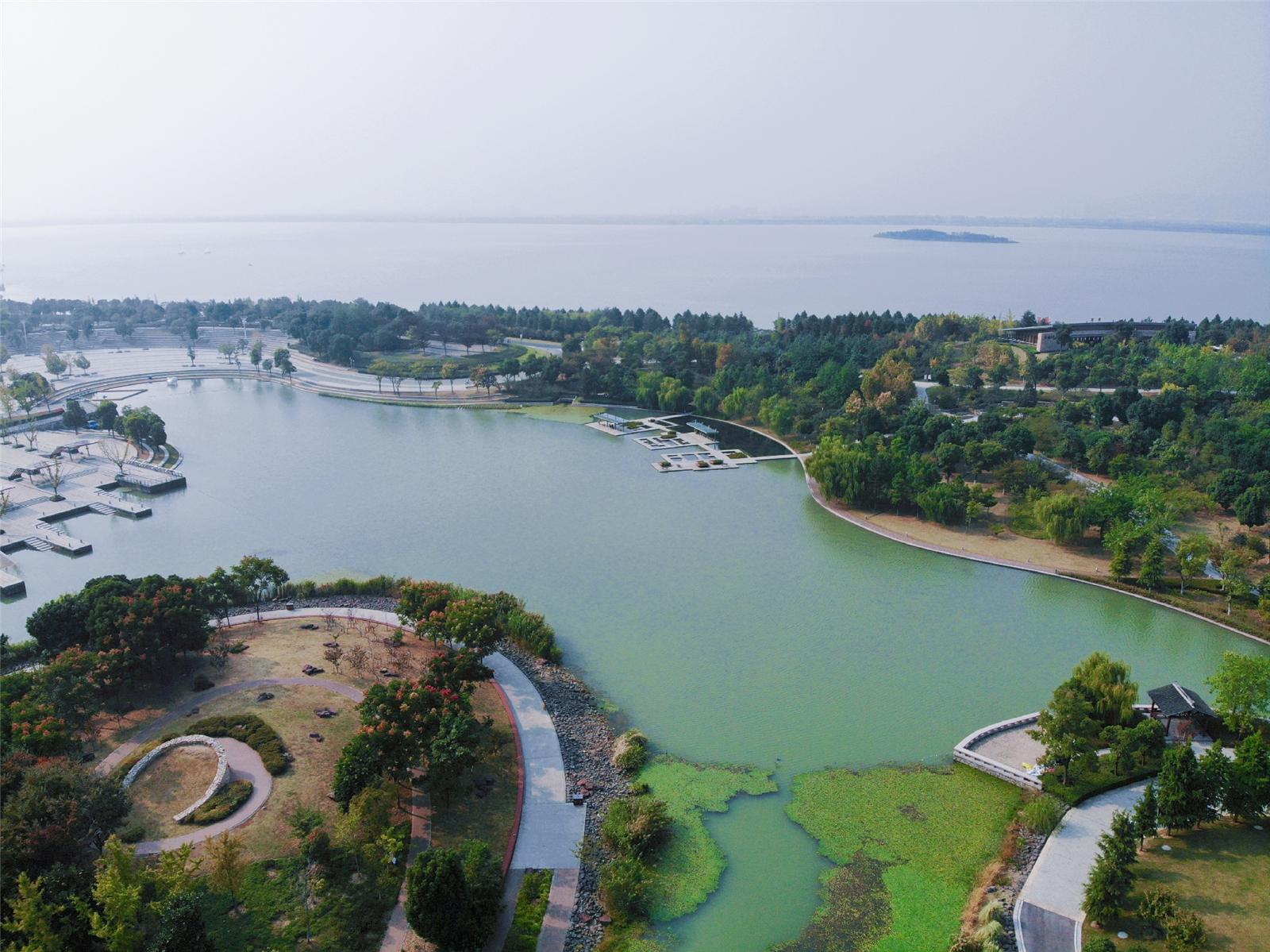 玩在吴江,游览东太湖生态园图片