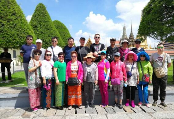 公益在线鹤城工作站 泰国之旅感谢信