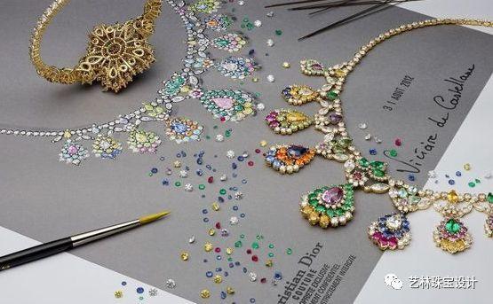 艺林珠宝手绘设计&水彩课程