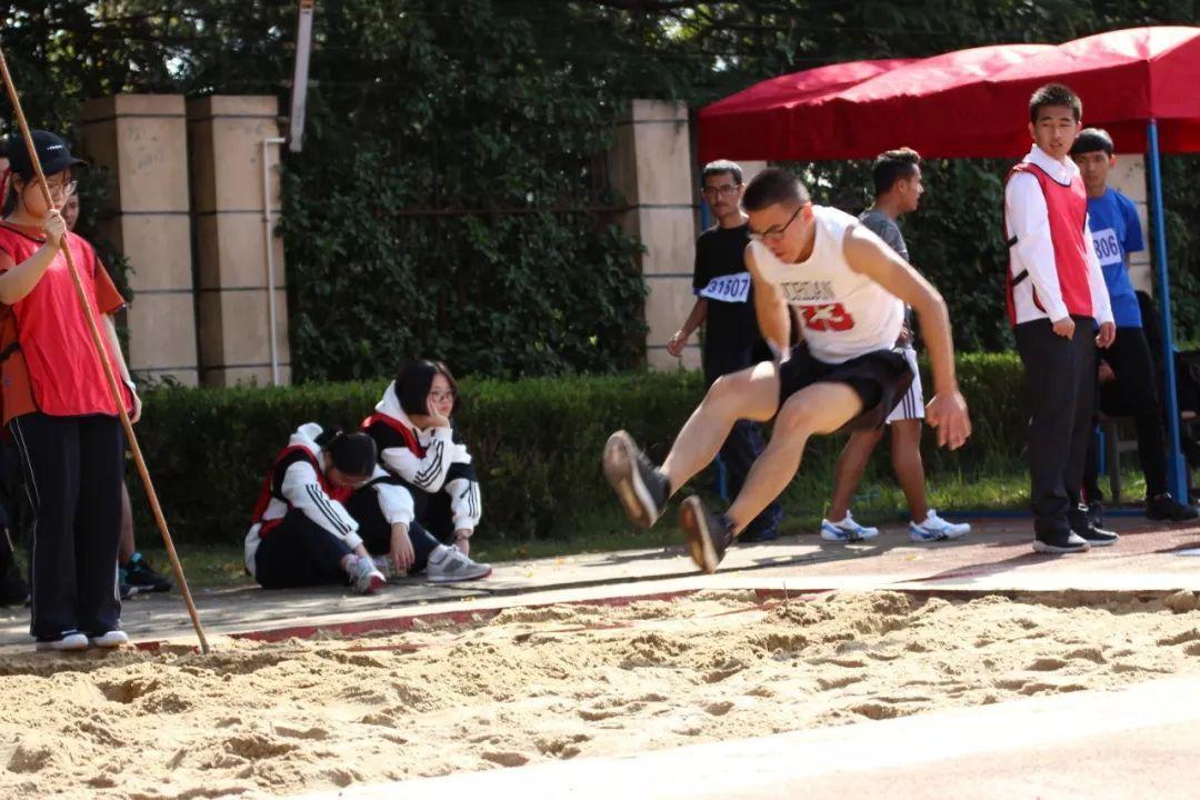 三级跳沙坑_三级跳的运动员们跑出了速度,跨出了高度,跳出了水平.