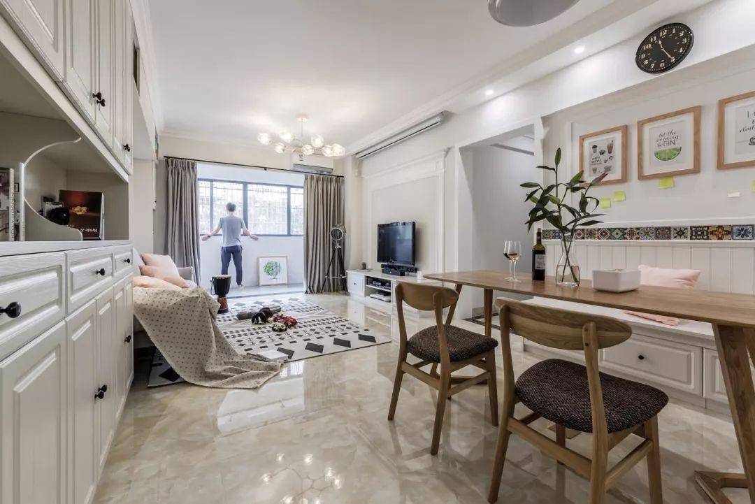 客厅放洗手台设计图片