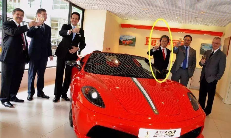 身家8亿的法拉利阔少港星买车得找他客户有谢霆锋和古天乐_快乐10