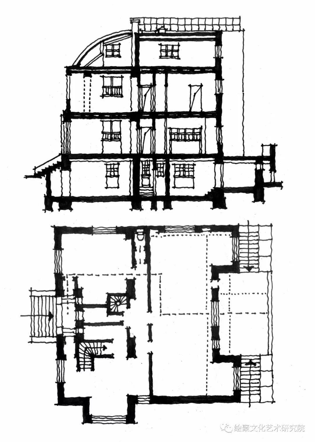 斯坦纳住宅平面图
