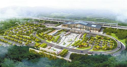 总投资5.25亿!长治太焦高铁东站站前广场预计明年4月全面开工