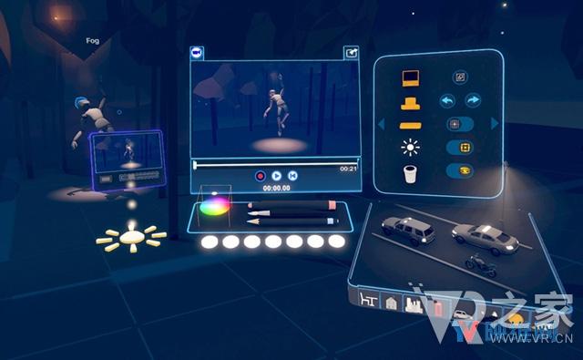 3D内容创作工具Tvori可以如何帮助你在VR中构建动画讲故事