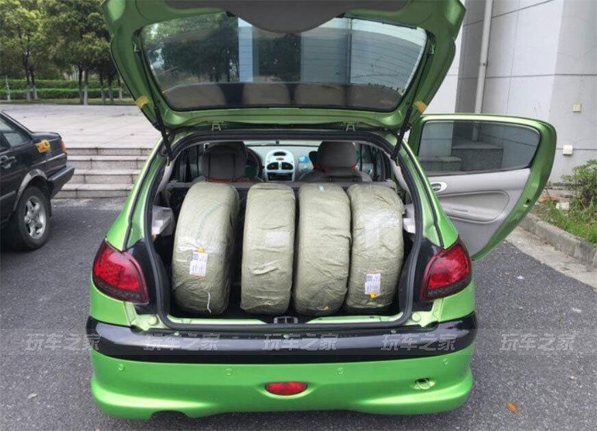 时尚的小绿龟标致206外观改装案例