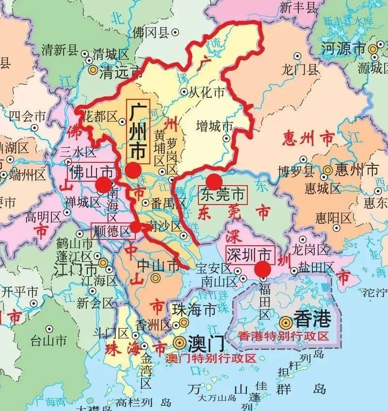 广州 gdp_25省上半年GDP出炉 安防贡献多少