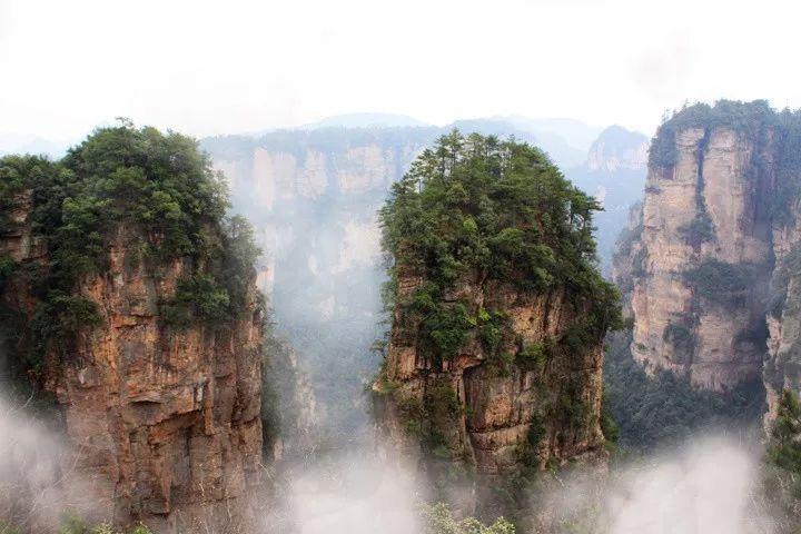 玄幻山风景图