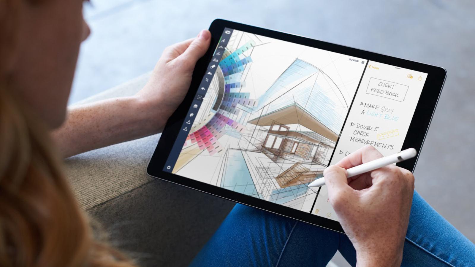 新ipad pro 不会用刘海全面屏,外形设计更类似 iphone图片