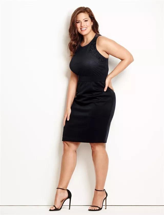 graham 体重近180斤 却是世界顶级杂志最炙手可热的封面模特之一 可