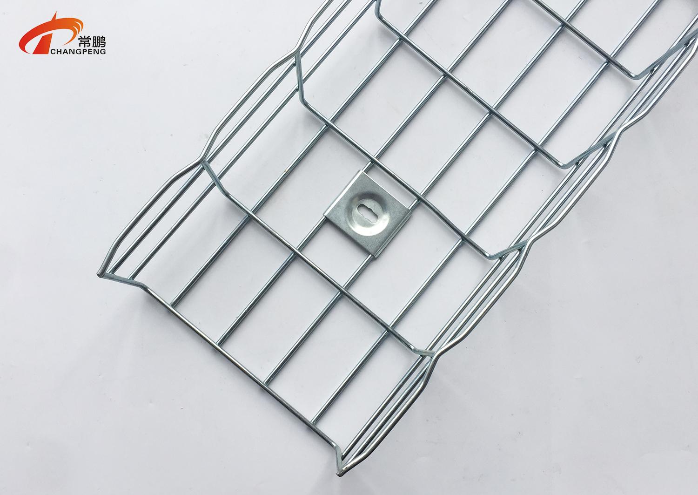 上海常鹏网格桥架配件安装方法图片分享 一