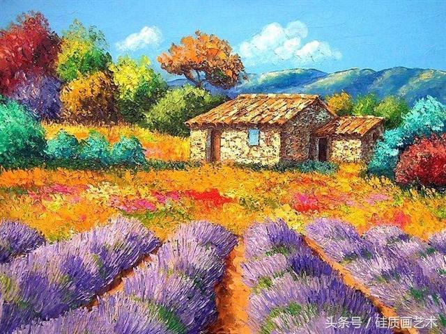 这组绘画作品如同童话世界般美好浪漫,真的很喜欢这种地方