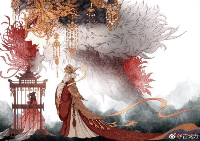 她笔下的古风美人带有一种仙气,美得不可方物,让300万人围观点赞!