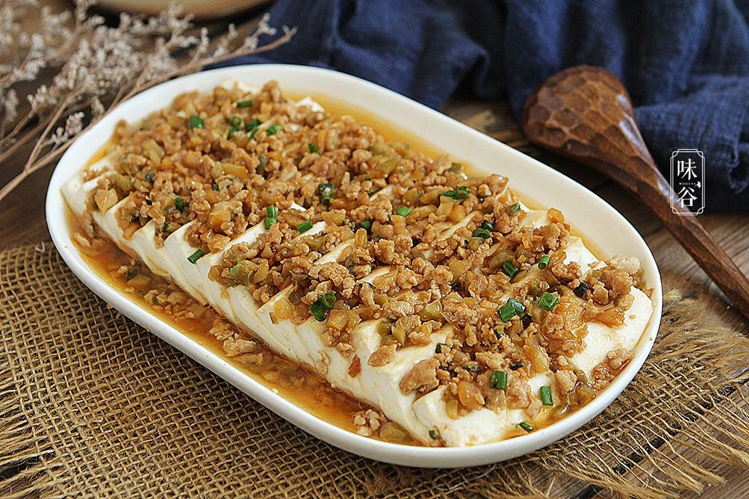 好吃又禁忌的豆腐米饭蒸道菜就做好了,有这榨菜多吃下几碗患者糖尿病食谱肉末营养图片