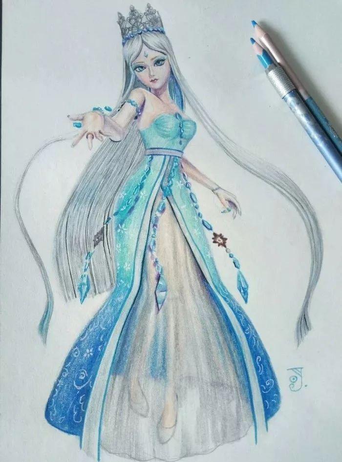 当叶罗丽进入画中 水王子帅不过庞尊,最后一张冰公主好看到流泪