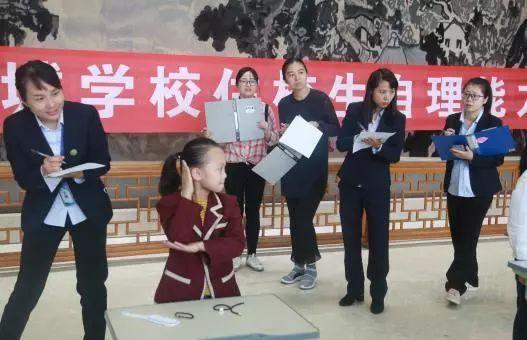 自理开展自立美丽--商城学校梳头二,三地址绽放v商城高新区郑州小学年级图片