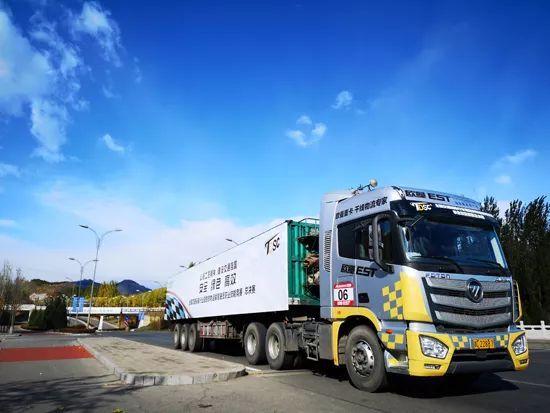 全国货运驾驶员技能竞赛闭幕 欧曼est超级卡车获认可图片