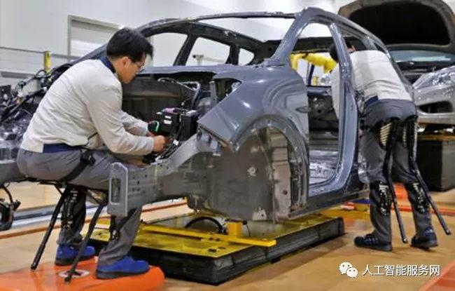 完全自动化 可穿戴外骨骼工业机器人插图2