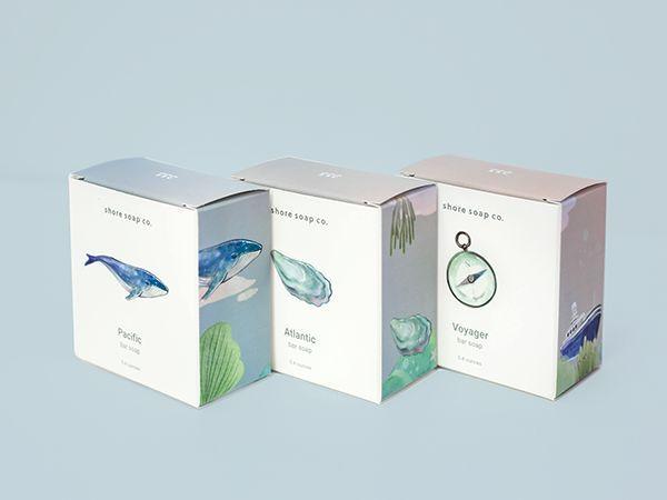 肥皂清新包装设计