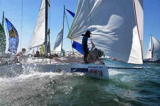 中国帆船联赛:助推竞赛改革 助力奥运备战