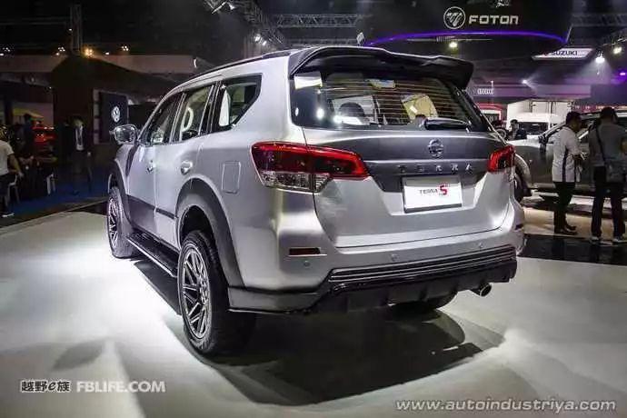 硬派SUV也玩性能 运动版日产途达S亮相