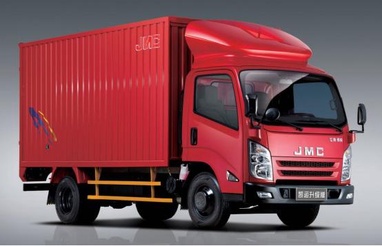 江铃凯运轻卡系列为物流运输增加了巨大的动力和负荷