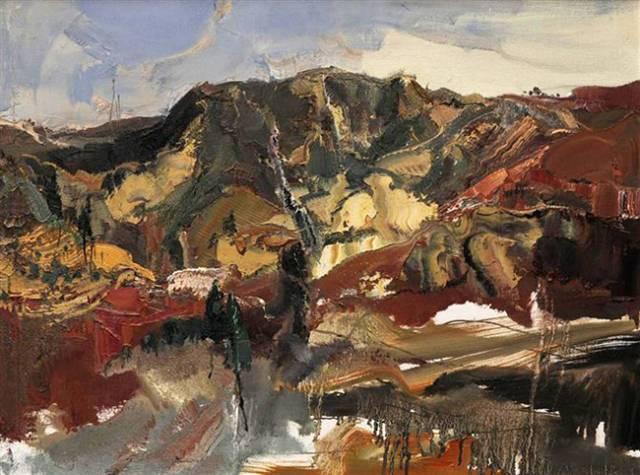 """正文  张延昭油画有他的独特理解和运用,作为当代油画""""写实意象派""""的"""