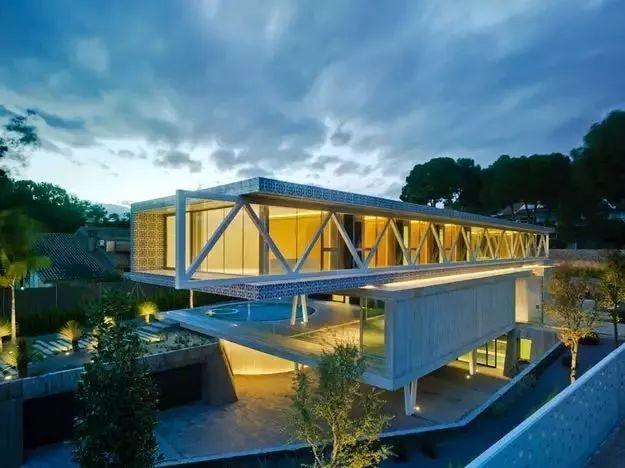 建筑与结构完美融合