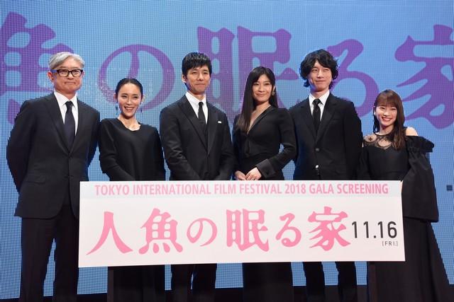 筱原凉子主演《沉睡的人鱼之家》 东京国际电影节先行上映