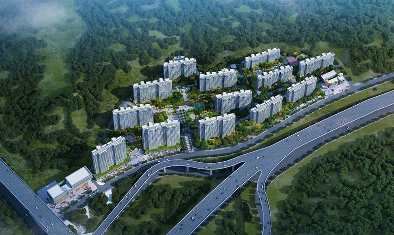 项目建成后将成为宜昌东站片区地标性建筑,大幅提升城市客厅形象.图片