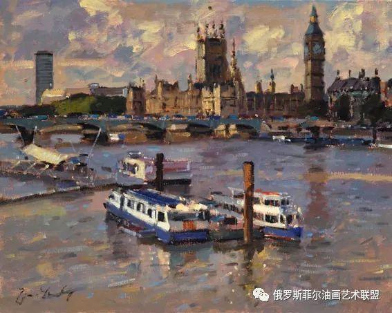 英国的风景画家bruce yardley绘画作品赏析